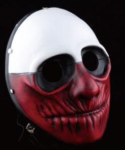 На картинке маски из Рayday 2 (Пейдей), вариант 1, общий вид.