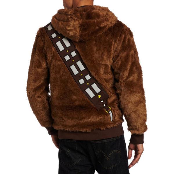 На картинке толстовка Star wars Чубакка (Чуи) (Звездные войны), вид сзади.
