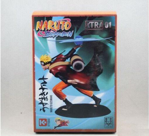 На картинке фигурка Наруто Узумаки с разенганом (Наруто), упаковка.