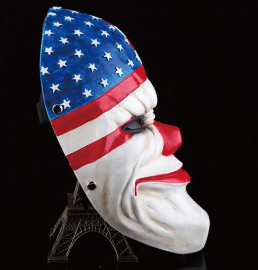 На картинке маска Далласа (Dallas) из Payday, вид сбоку.