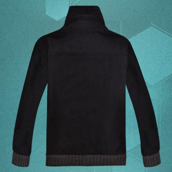 На картинке толстовка-куртка Sword Art Online, вид сзади.