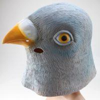 Маска голубя фото
