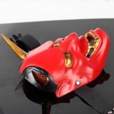 На картинке японская маска демона Ондеко (Кабуки), общий вид, вариант Красная.