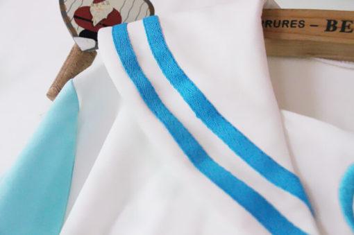 На картинке толстовка Сейлормун (2 цвета), детали, цвет голубой.