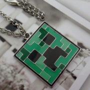Кулон «Крипер» из игры Майнкрафт (Minecraft) фото