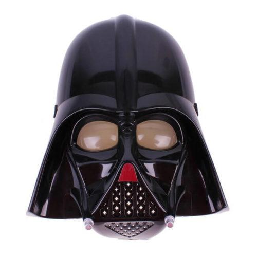На картинке маска Дарт Вейдера (Star wars), вид спереди.