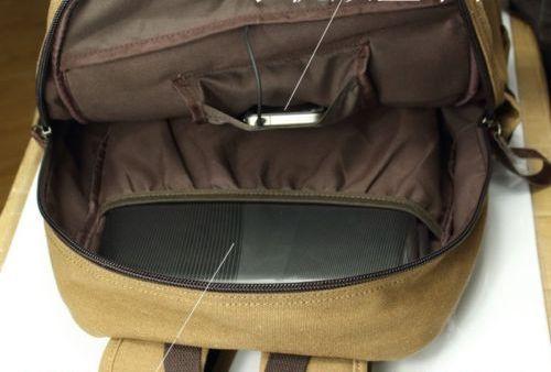 На картинке рюкзак «Токийский гуль», детали.