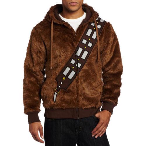 На картинке толстовка Star wars Чубакка (Чуи) (Звездные войны), вид спереди.