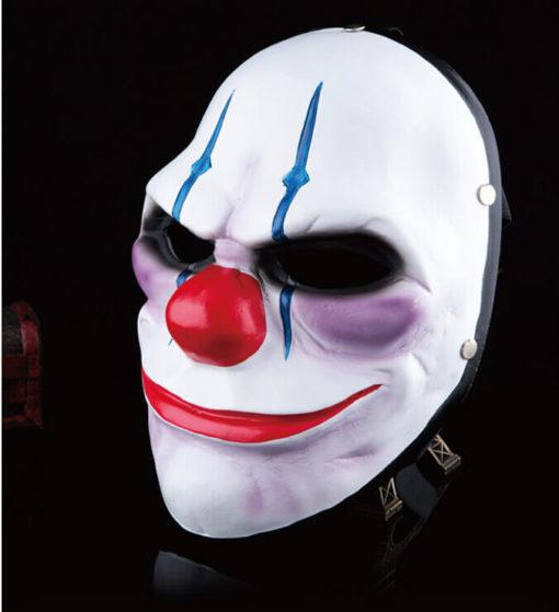 На картинке маски из Рayday 2 (Пейдей), вариант 3, общий вид.