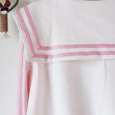 На картинке толстовка Сейлормун (2 цвета), детали, цвет розовый.