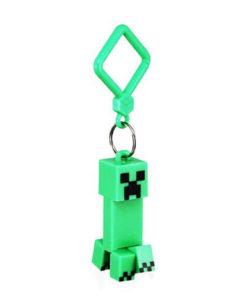 На картинке фигурка-брелок Крипер из Майнкрафт (Minecraft CREEPER).