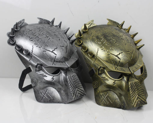 На картинке маска хищника (predator) 2 варианта, общий вид.