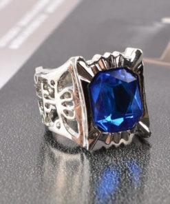 На картинке кольцо Сиэля Фантомхайва Темный Дворецкий (Kuroshitsuji), общий вид.