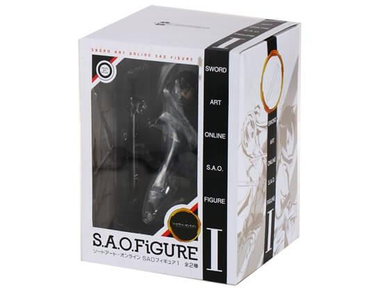 На картинке фигурка Kirito (Кирито) Sword Art Online, упаковка.