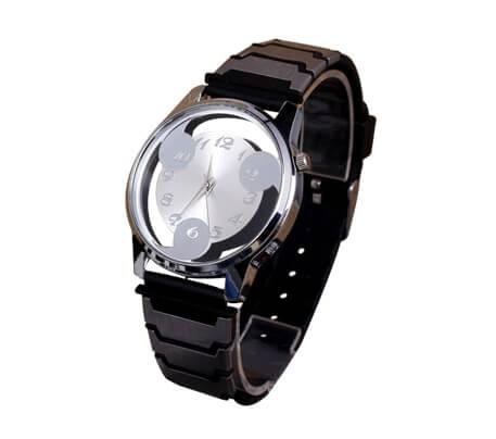 На картинке наручные часы Наруто (Шаринган) 2 варианта, вариант Белый.