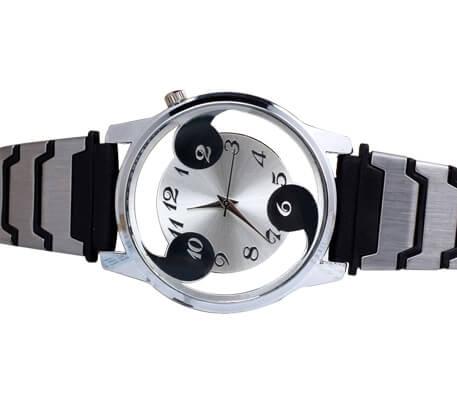 На картинке наручные часы Наруто (Шаринган) 2 варианта, вариант Черный.