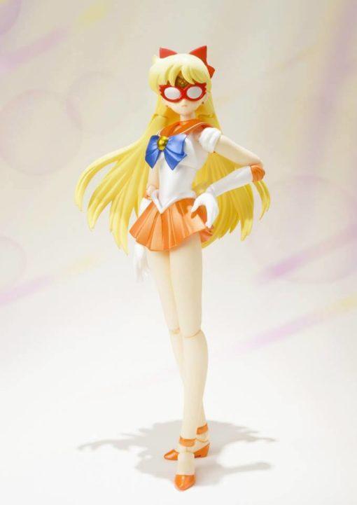 На картинке фигурка Сейлор Венера (Sailor Venus) — Сейлормун, общий вид.
