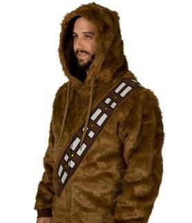 На картинке толстовка Star wars Чубакка (Чуи) (Звездные войны), общий вид.