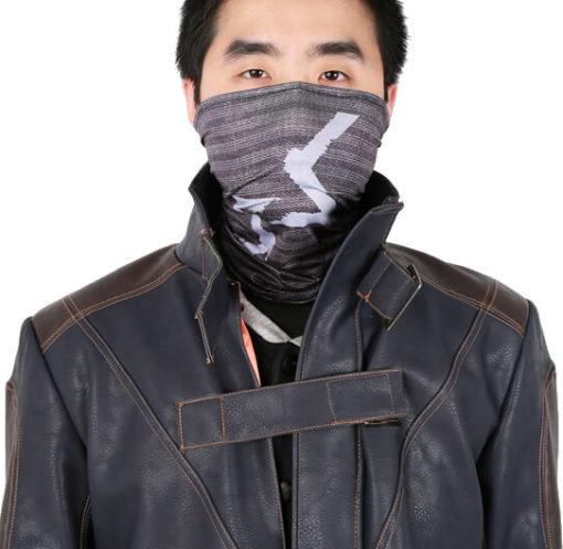 На картинке маска Эйдена Пирса (Watch dogs), вид спереди.
