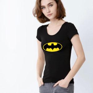 Бесплатная-доставка-Новый-2014-Superhero-Бэтмен-T-Shirt-Мужчины-и-женщины-Sliйm-Fit-с-коротким-рукавом