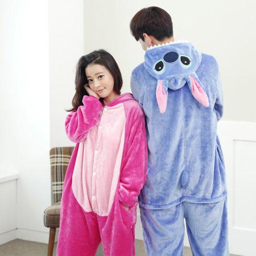 Новое-поступление-фланели-взрослый-мужской-пижамы-косплей-мультфильм-животных-стежка-Onesie-пижамы-рождество-хэллоуин