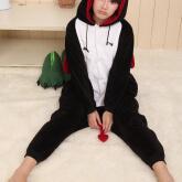 На картинке пижама-кигуруми «Дьявол», вид спереди.