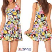 Платье Время приключений (Adventure time), вариант Время приключений