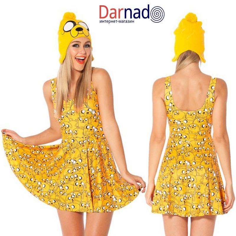 Платье Время приключений (Adventure time), вариант Джейк