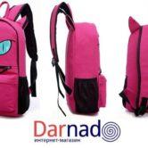 Рюкзак кот с ушками (4 цвета), вид с разных сторон