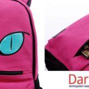 Рюкзак кот с ушками (4 цвета), детали