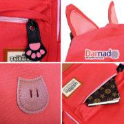 Рюкзак с кошачьими ушками (6 цветов), детали