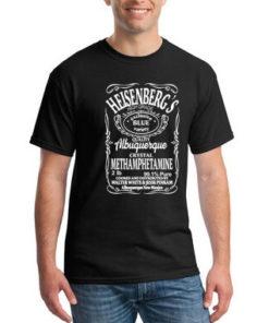На картинке футболка Хайзенберг (Heisenberg), вид спереди.