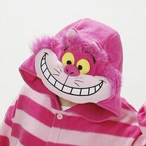 На картинке пижама-кигуруми «Чеширский кот» (Disney) Дисней, детали.