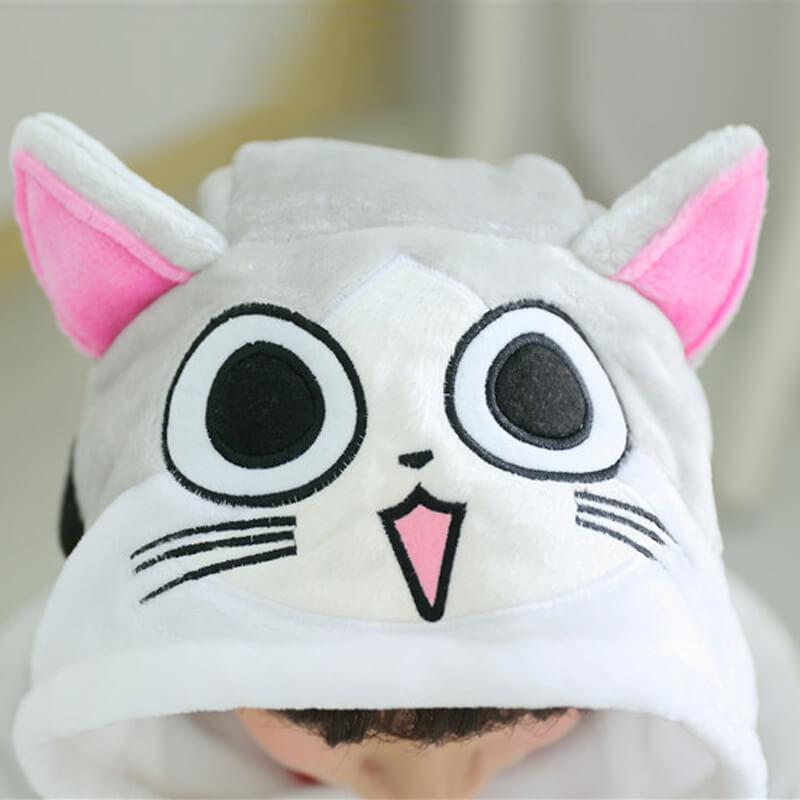 На картинке пижама-кигуруми «котенок Чии (Чи)», детали.