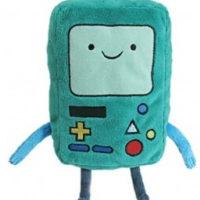 "На картинке мягкая игрушка Бимо ""Время приключений"" (Adventure time) 2 варианта, вид спереди, вариант 12 см."