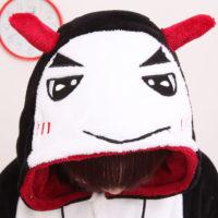 На картинке пижама-кигуруми «Дьявол», детали.