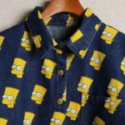 Рубашка с Бартом Симпсоном фото