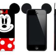 Силиконовый чехол с ушками Микки и Минни на айфон 4-4S-5-5S (iPhone) фото