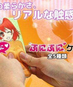 На картинке объемный аниме чехол на айфон 4-4s-5-5s (iPhone), вариант 1.