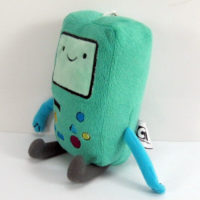 "На картинке мягкая игрушка Бимо ""Время приключений"" (Adventure time) 2 варианта, общий вид, вариант 12 см."