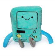 "На картинке мягкая игрушка Бимо ""Время приключений"" (Adventure time) 2 варианта, вид спереди, вариант 40 см."