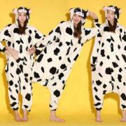 Пижама-кигуруми «Корова» фото