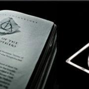 Кулон-подвеска со знаком «Даров смерти» (Гарри Поттер) фото