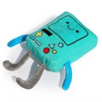 "На картинке мягкая игрушка Бимо ""Время приключений"" (Adventure time) 2 варианта, общий вид, вариант 40 см."