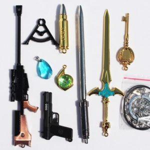 На картинке набор «Sword Art Online» (SAO \ GGO).