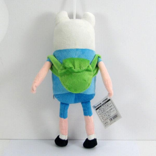 На картинке мягкая игрушка Фин «Время приключений» (Adventure time) 2 варианта, вид сзади.