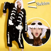 Пижама-кигуруми «Скелет» фото