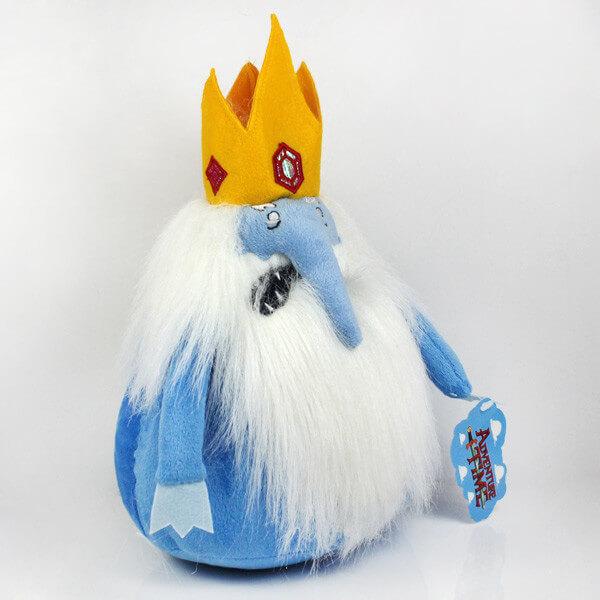 """На картинке мягкая игрушка Снежный король """"Время приключений"""" (Adventure time), общий вид."""
