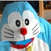 На картинке пижама-кигуруми «кот Дораэмон», детали.