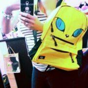 Рюкзак кот с ушками (4 цвета) фото